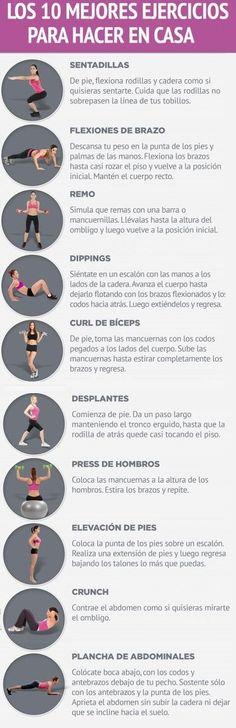 Si quieres bajar la panza, estos ejercicios son muy efectivos.   Rutinas de ejercicio en casa paso a paso | Ejercicios para bajar de peso | #rutina #workout #ejercicio