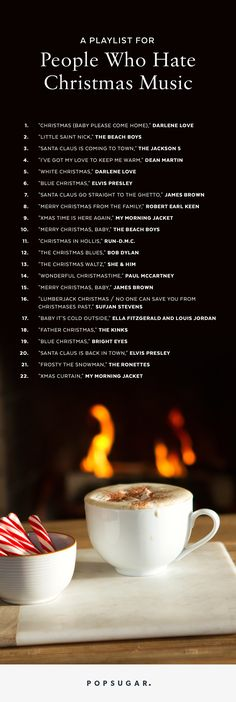 MaggiChef - MaggiChef A Playlist For People Who Hate Christmas Music<br> A Playlist For People Who Hate Christmas Music Indie and Classic Rock Christmas Songs Music Lyrics, Music Quotes, Music Songs, My Music, Indie Music, Music Icon, Popsugar, Christmas Playlist, Songs For Christmas