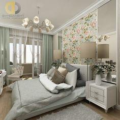 Дизайн спальни в стиле современный прованс