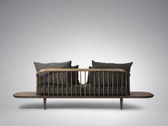 FLY Lounge Series by Space Copenhagen - Design Milk Lounge Chair Design, Lounge Sofa, Sofa Chair, Copenhagen Design, Space Copenhagen, Sofa Furniture, Furniture Design, Modern Furniture, Vintage Furniture