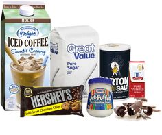 International Delight Ice Coffee Mocha Fudge  2 1/2 c. sugar   3/4 tsp salt   1/2 stick butter   2/3 c International Delight Mocha Ice Coffee   1Jar Marshmallow Fluff   3/4 tsp vanilla   12oz pkg semi-sweet choc chips   Grease a 9in pan; set aside. Combine 1st 5 ingredients in saucepan. Stir over low heat until blended. Increase heat to Med & bring to boil. Boil slowly, stir constantly for 5 min. Remove from heat, stir in vanilla & choc until chocolate is melted. Put in greased pan and cool.