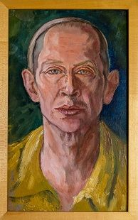 E. E. Cummings (14 oktober 1894 - 3 september 1962) - Zelfportret 1958