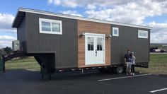 Couple's Custom 5th Wheel Tiny Home on Wheels on MARCH 28, 2016