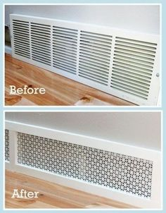 25 Cheap And Easy DIYs That Will Vastly Improve Your Home Amazing-Easy-DIY-Home-Decor-Ideen-pretty-air-grill.jpg 736 × Pixel Amazing-Easy-DIY-Home-Decor-Ideen-pretty-air-grill. Home Renovation, Home Remodeling, Cheap Remodeling Ideas, Bedroom Remodeling, Sweet Home, Boho Home, Up House, This Old House, Home And Deco