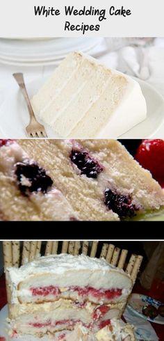 White Wedding Cake Recipes #Fruityweddingcakesflavors #DIYweddingcakesflavors #weddingcakesflavorsLemon #Fallweddingcakesflavors #Chocolateweddingcakesflavors Almond Wedding Cakes, Berry Wedding Cake, Wedding Cake Flavors, Fall Wedding Cakes, Perfect White Cake Recipe, White Cake Mixes, Cake Trends, Cake Tasting, Moist Cakes