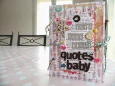 Scrap Kits & Co: SKC kit de mars - Let's talk about quotes baby par Soraya