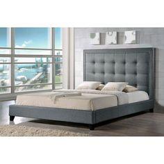 Angelica Modern Platform Bed - Platform Beds at Hayneedle