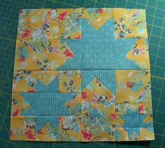 A Quilter's Table: August Bee Blocks (pin now, check for measurements later)