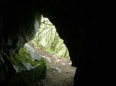 St Colman's hermit cave