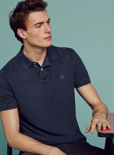 MARCH: The new MARC O'POLOs: Casual polo shirts in a variety of colors, styles and materials. #marcopolo #followyournature #poloshirt #mensfashion