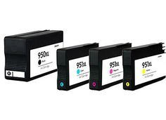 Ink Cartridge for HP 950XL/951XL(4-color) Officejet Pro 8620 Printer