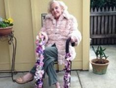"Think you're too old to become an entrepreneur? Don't say that to 89-year-old Pearl Malkin, aka ""Grandma Pearl."" She far exceeded her $3,500 startup capital target using the Kickstarter platform for her first-time business Happy Canes, a line of walking sticks she decorates with artificial flowers. Pearl talks about launching the venture in this inspiring interview (click through for the video). It's never too late to have an adventure, no matter what that adventure may be!"