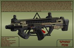 Sphinx PDW (Request) by MOAB23 on DeviantArt