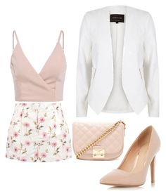 """""""Untitled #303"""" by dr-azzko ❤ liked on Polyvore featuring River Island, RED Valentino, Dorothy Perkins and Forever 21"""