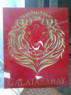 Cnc Engraving Galatasaray Logo  http://www.cncahsap.net