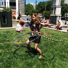 #childrensworldofplayfestival #hoopingforlife