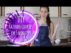 """DIY: Aprenda a fazer """"Cookies"""" em 5 minutos - YouTube"""