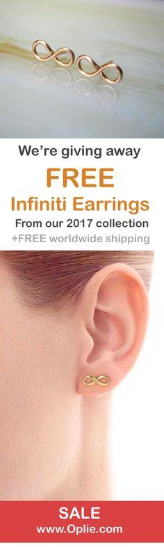 FREE infiniti earrings