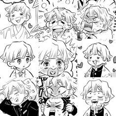 Anime Chibi, Dragon Slayer, Slayer Anime, Anime Demon, Manga, Otaku Anime, Aesthetic Anime, Illustration Art, Character Design