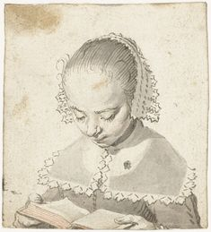 Girl Reading, Gerard ter Borch (I), c. 1630 - 1635