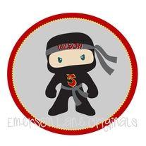 Ninja Birthday Shirt