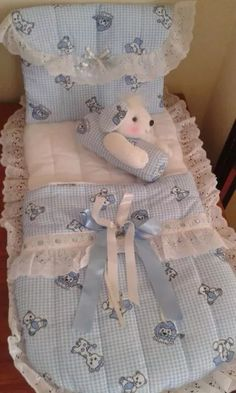 Sewing Doll Clothes, Sewing Dolls, Cute Baby Girl Outfits, Dresses Kids Girl, Baby Doll Bed, Baby Dolls, Sewing Ruffles, Baby Net, Baby Sewing Projects