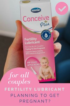 When it's time for a baby... it's time to use Conceive Plus Fertility Lubricant. The Sperm Friendly lubricant that helps support the path to getting pregnant naturally!