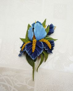 #Leather_flower_brooch #leather_jewelry #floral_brooch #Leather_flower #handmade_leather_flowers