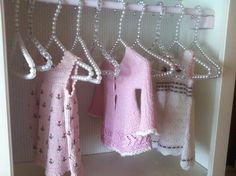 Knitting for my grandchild, Alma.