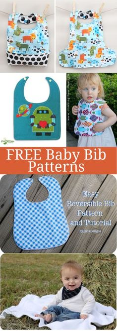 FREE Baby Bib Patterns