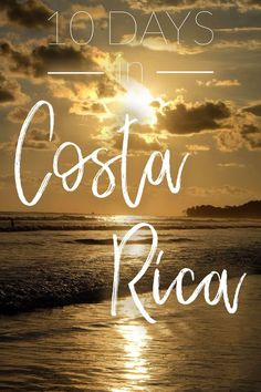 Going to Costa Rica? Want the best of the mountains and the beach? Check out my itinerary to find out where you should go and what you should do. costa rica, costa rica itinerary, costa rica travel, costa rica things to do, uvita, monteverde, costa rica beach, manuel antonio,  via @musingsofarover