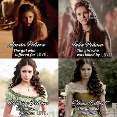 Katerina is my favourite Petrovova which is yours??