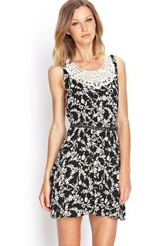 Great dressed up or down, this floral print fit