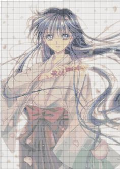 Point de croix Sailor Moon