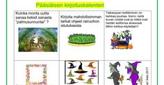Pääsiäisen kirjoituskalenteri.docx Easter, Comics, Easter Activities, Comic Book, Cartoons, Comic Books, Graphic Novels