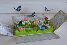 BUTTERFLY EXPLOSION BOX - Google Search