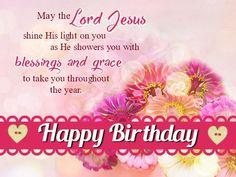 Happy Birthday Greetings Messages Wishes Cards For Friends Christian