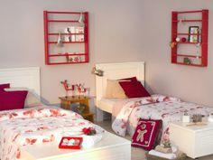 Decore o quarto de visitas com um super clima natalino para receber os parentes!