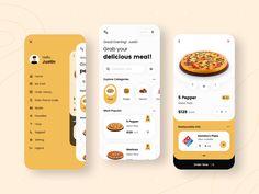 Best Ui Design, Mobile Ui Patterns, Delivery App, App Design Inspiration, Mobile App Development Companies, Order Food, Mobile App Design, Ui Kit, App Ui