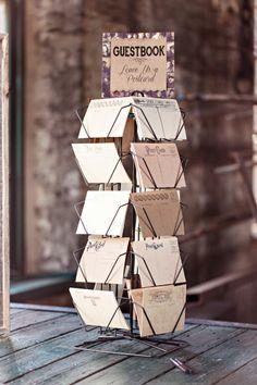 Fun guestbook alternative: http://www.stylemepretty.com/georgia-weddings/savannah/2015/06/02/diy-savannah-railroad-wedding/   Photography: Glass Jar - http://glassjarphotography.com/