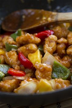 Wonderful Crock Pot Recipes For Large Groups Of People - My Website Healthy Recipes, Asian Recipes, Cooking Recipes, Ethnic Recipes, Pollo Chicken, China Food, Deli Food, International Recipes, Love Food