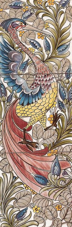 William Morris wallpaper design (arts & crafts movement)