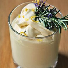 Syllabub by Saveur. England's syllabub is a simple but spirited dessert. Lemon Desserts, Köstliche Desserts, Delicious Desserts, Dessert Recipes, Dinner Recipes, British Desserts, British Recipes, Saveur Recipes, Baking Recipes