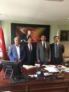 HATİAB Genel Başkanı İbrahim Güder ve ORGE Elektrik CEO'su ve HATİAB Başkan Yardımcısı Nevhan Gündüz, Hatay'ın yetiştirdiği başarılı bürokratlardan HSYK Hakim ve Savcılar Yüksek Kurulu üyesi Sayın Mehmet Durgun'u makamında ziyaret etti.