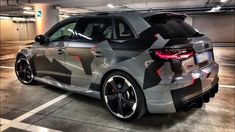 Audi Rs3, Camo Designs, Audi Sport, Car Wrap, Hot Wheels, Luxury, Vehicles, Airbrush, Gadgets