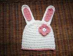 Free Easter bunny crochet hat pattern - Tampa Bay Crocheting | Examiner.com