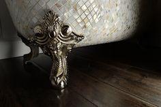 Chadder Blenheim Mother of Pearl Mosaic bath. Luxury Mosaic tubs for luxury…