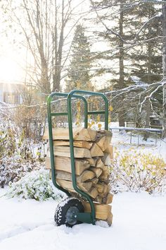 Cold but beautiful morning. Le Prix, Fire Pit Patio, Beautiful Morning, Fireplace Ideas, Firewood, Outdoor, Design, Search, Woodwind Instrument