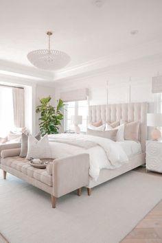 Modern Bedroom Design, Master Bedroom Design, Home Decor Bedroom, Bedroom Furniture, Bedroom Ideas, Modern Bedrooms, Glam Bedroom, Bedroom Designs, Master Bedrooms