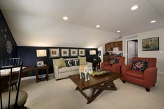 Promenade Bonus Suite Living Room Area, showing optional kitchette